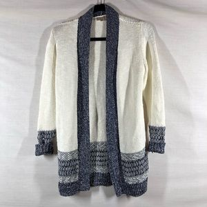 Loft Outlet Open Front Sweater Cardigan XSP